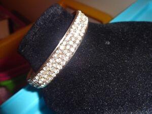 Très beau bracelet or et pierre du rhin (Gling Gling)  NEUF