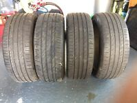 Continental 225/45R19 Tyres x4