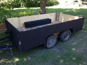 6 by 10 tandem utility trailer