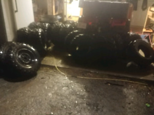 Assorted 12 inch ATV tires