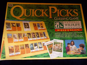 Quick Picks Guessing Game-National Wildlife Federation