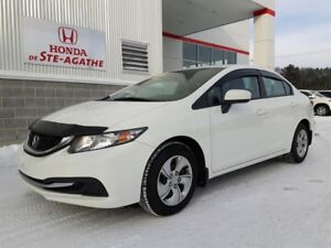 Honda Civic LX auto. *Bluetooth, A/C, Cruise, USB...* 2014
