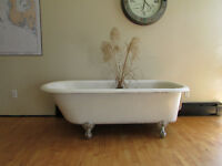 Cast Iron Claw Foot Tub For Sale