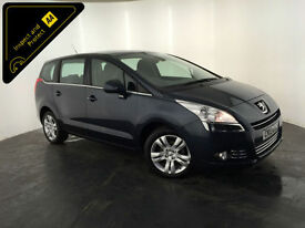 2013 PEUGEOT 5008 ACTIVE HDI DIESEL 7 SEATS 1 OWNER SERVICE HISTORY FINANCE PX