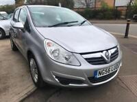 Vauxhall Corsa 1.2 CLUB 5DR LOW MILEAGE (57K) LONG MOT FSH CHEAP RUNNER BARGAIN