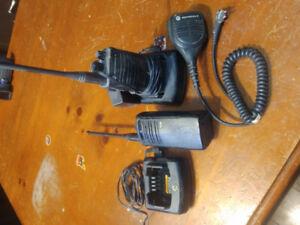 2x Motorola Construction Grade Radios