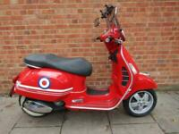 RED PIAGGIO VESPA GTS 250 ie COMMUTER SCOOTER NICE EXAMPLE