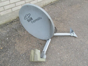 Used Bell Satellite Dish / Good Condition / Lindsay / $40.00