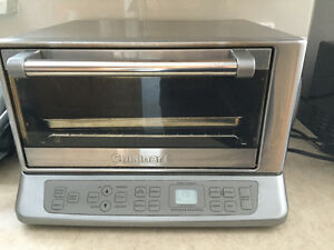STAINLESS STEAL CUISINART TOASTER OVEN