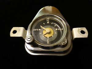 1951 Ford Meteor Dash Clock