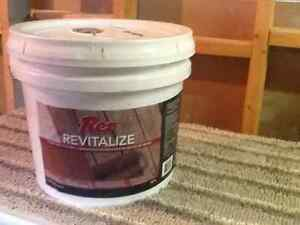 Rez Revitalize deck stain