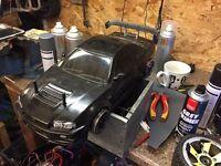 Brushless rc car drift not nitro
