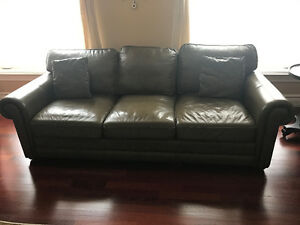 Dalton olive couches set