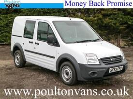 2013 (63) FORD CONNECT T220 SWB 5 SEAT CREW VAN COMBI 1.8TDCI,75PS, Small