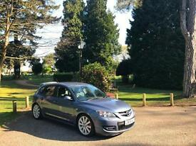 2008 MAZDA 3 MPS 2.3 TURBO AREO SPORT 5 DOOR HATCHBACK BLUE