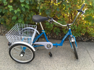 Adult Folding Tricycle