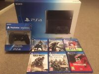 Playstation 4 & 6 Games