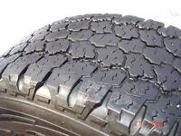 2013 Goodyear Wrangler  tires LT275/70R/18 All-Terrain Adventure