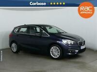 2017 BMW 2 Series 220d Luxury 5dr [Nav] Step Auto HATCHBACK Diesel Automatic