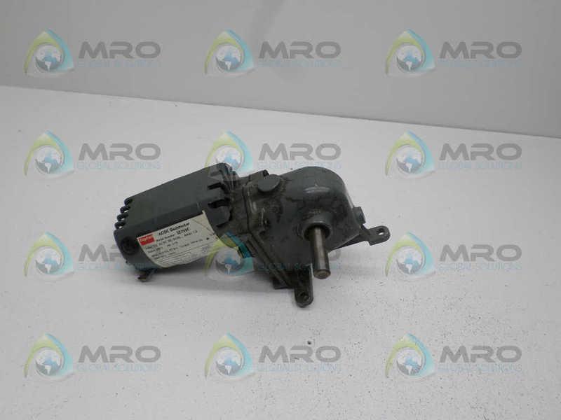 DAYTON 2Z799C GEARMOTOR 1/15 HP 12.8 RPM * USED *