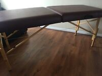 Medical examination couch or massage table