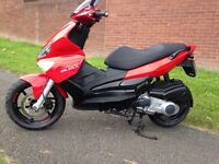 Gilera runner st 125 2009 only 6000 miles from new
