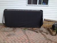 Hot tub cover and lifter