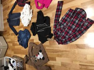 Lot de vêtements filles 12-14 ans