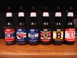 Molson Canadian 100th Anniversary Set of Beer Bottles