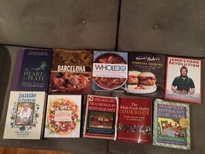 Cook book lot