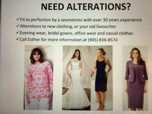Dress Alterations..formal wear. Bridal Gowns