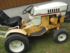 Sears ST 12 Garden tractor