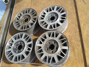 Set of 4 Aluminum Rims for 4x4 Sonoma, Jimmy, S10 & Blazer
