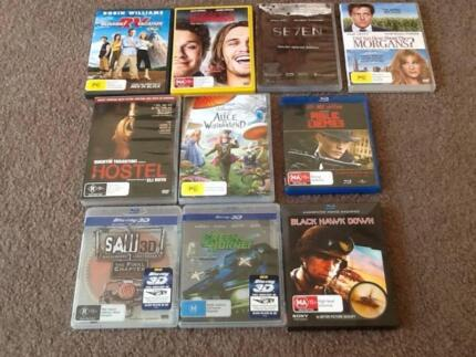 3D/ Bluray/ DVD movies for sale Bonner Gungahlin Area Preview