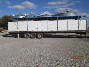 Agricultural / Flat bed Trailer
