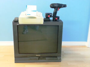 Free TV, scanner and cordless drill