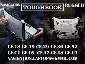 BACKROAD GPS navigation RUGGED TOUGHBOOK laptops with TOPO MAPS
