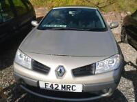 2006 RENAULT MEGANE 1.6 VVT Dynamique CONVERTIBLE LOVELY COLOUR
