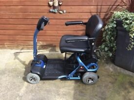 CAR BOOT MOBILITY SCOOTER