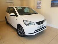 SEAT MII I-TECH 1.0 White Manual Petrol, 2015