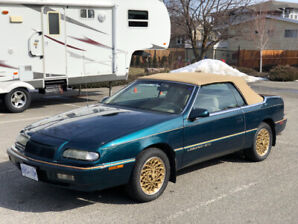 94 Chrysler LeBaron GTC Convertible