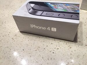 Brand New Never Opened Black iPhone 4S 16 GB locked to Bell