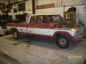 1977 Ford F250 supercab part out