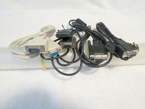 Serial RS-232C 9M-9F Cable, Samsung Digimax 210SE Camera Cables