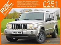 2009 Jeep Commander 3.0 CRD Turbo Diesel Limited Ltd Auto 4x4 4WD 7 Seater Sunro