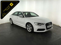 WHITE 2014 AUDI A6 S-LINE TDI DIESEL 6 SPEED 1 OWNER FINANCE PX