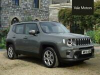 2020 Jeep Renegade 1.3 GSE T4 11kWh Limited Auto 4xe (s/s) 5dr SUV Petrol Plug-i