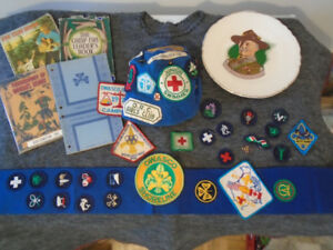 BOY SCOUTS AND GIRL GUIDES STUFF