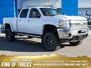2014 Chevrolet Silverado 3500HD LTZ  - Leather Seats -  Bluetoot