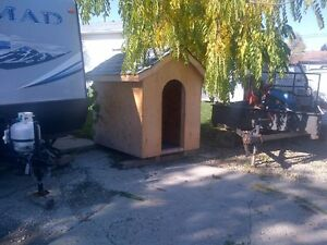 MUST GO - New Big doghouse 4 ft wide x 6 ft tall x 5 ft long